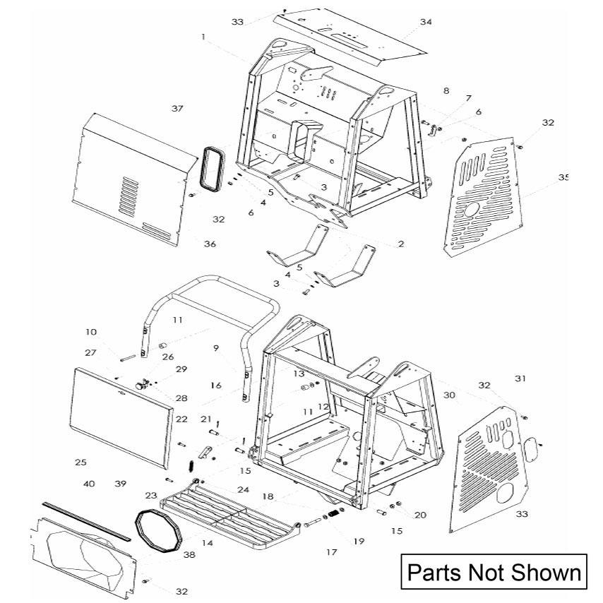 Imer Carry 107 Transporter Parts